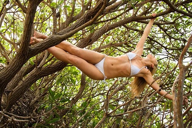Girl Stuck In Tree
